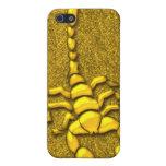 Gold Scorpion  iPhone 5 Case