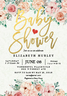 baby shower invitations zazzle