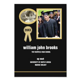 Gold Seal Photo Graduation Announcement/Invitation
