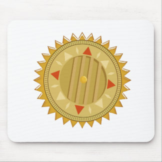 Gold SEAL : Sun CHAKRA Compass Mouse Pad