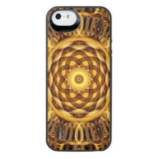 Gold Seam Mandala iPhone SE/5/5s Battery Case