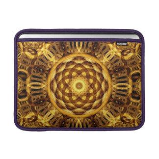Gold Seam Mandala MacBook Sleeve
