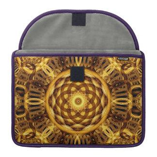 Gold Seam Mandala Sleeve For MacBooks