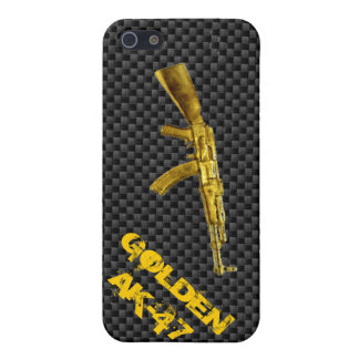 Gold Series AK-47 Cover For iPhone SE/5/5s