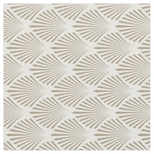 Gold Shell Pattern Fabric Zazzle Com