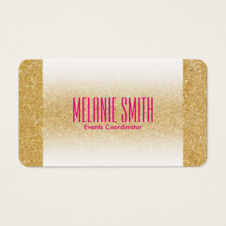 Gold Shimmer | Fade Business Card