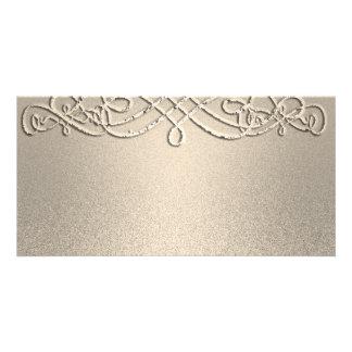 Gold Shimmer Glitter Template Custom
