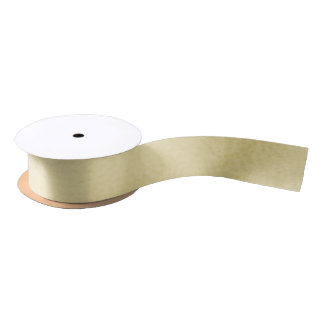 Gold Shimmer Solid Satin Ribbon