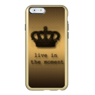 Gold Shine Live iPhone 6/6s Feather Shine Case