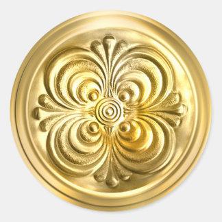 Gold Shiny Envelope Seal