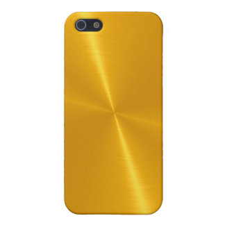 Gold Shiny Stainless Steel Metal Cover For iPhone SE/5/5s
