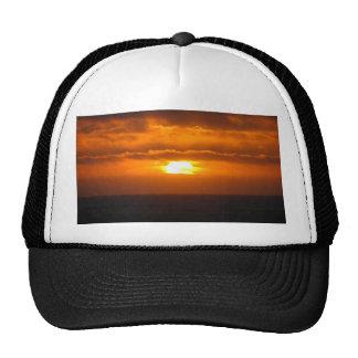 Gold Shot Mesh Hats