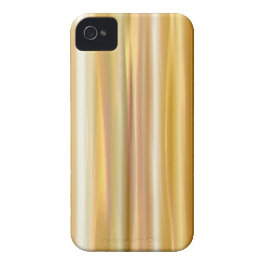 Gold Silk Curtain iPhone 4 Cover