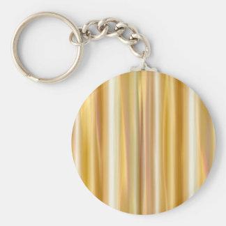 Gold Silk Curtain Keychain