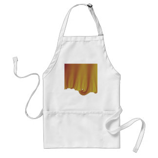 Gold Silk Drapes Adult Apron