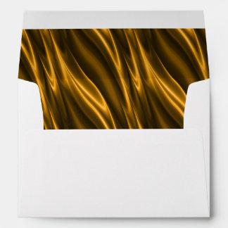 Gold Silk Envelope