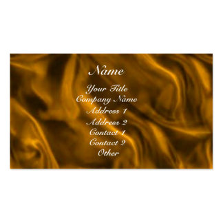 Gold Silky Business Card