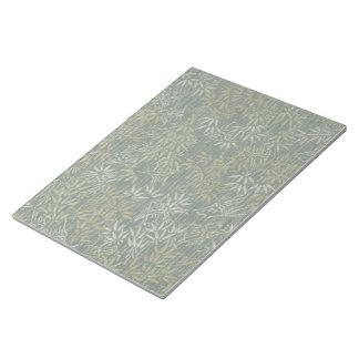 Gold & Silver Bamboo Notepad