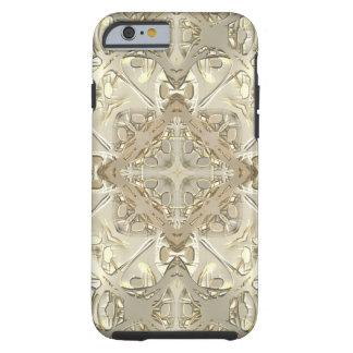 Gold & Silver Kaleidoscope Tough iPhone 6 Case