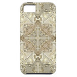 Gold & Silver Kaleidoscope iPhone 5 Cases