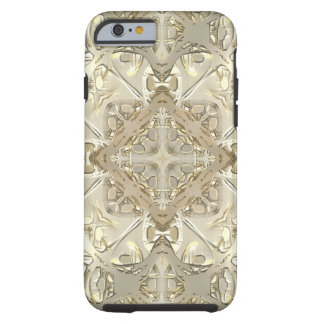 Gold & Silver Kaleidoscope iPhone 6 Case