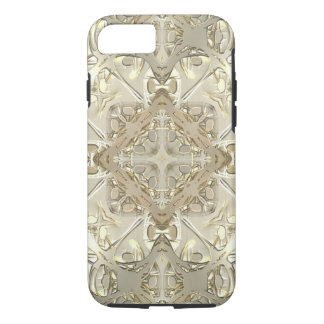 Gold & Silver Kaleidoscope iPhone 7 Case