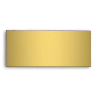 Gold simple shade elegant #10 envelopes
