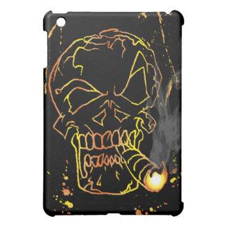Gold Skull Smoking iPad Mini Cases