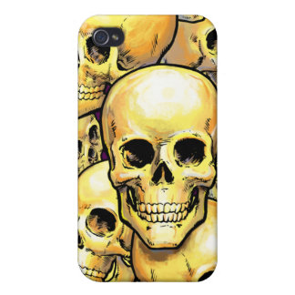 Gold Skulls iPhone Speck case iPhone 4/4S Covers