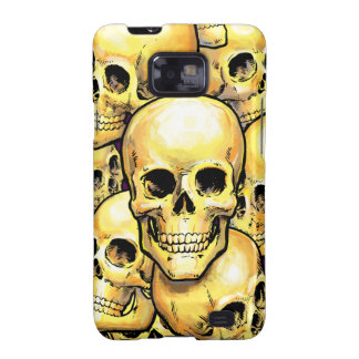 Gold Skulls Samsung Case-Mate Case Samsung Galaxy SII Cover