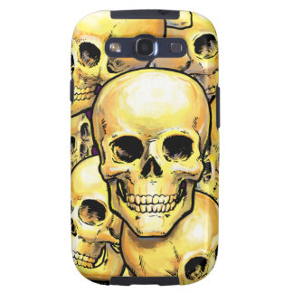 Gold Skulls Samsung Case-Mate Case Galaxy S3 Covers