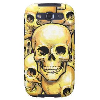 Gold Skulls Samsung Case-Mate Case Galaxy S3 Case