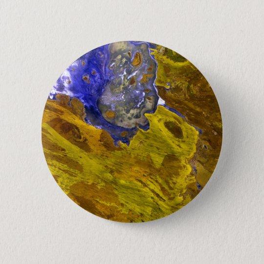 Gold Slate Pinback Button