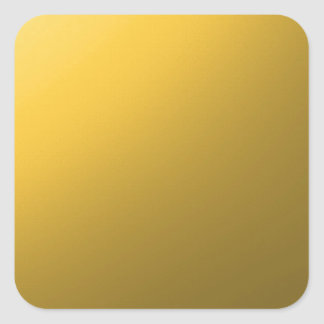 gold,small abstract colored pattern square sticker