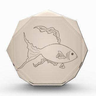 Gold small fish award