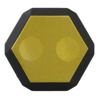 Gold Solid Color Black Bluetooth Speaker