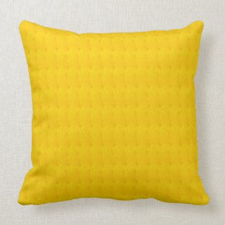 Gold Solid Texture Print Throw Pillow