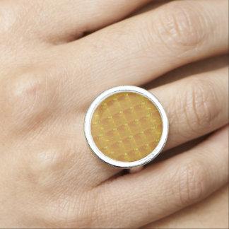 GOLD Sparkle Jewel Love Romance nvn247 Dating Ring