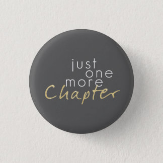 Gold Sparkle Just One More Chapter Button