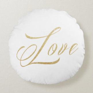 Gold Round Throw Pillow : Infinity Pillows - Decorative & Throw Pillows Zazzle