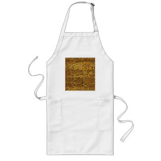 Gold Sparkling Sequin Look Aprons