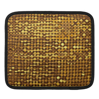 Gold Sparkling Sequin Look Sleeve For iPads