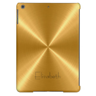 Gold Stainless Steel Metal iPad Air Cover
