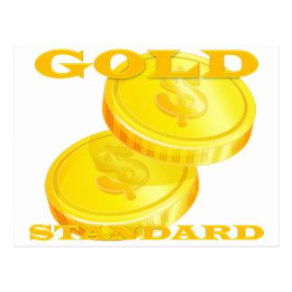 Gold Standard Postcard