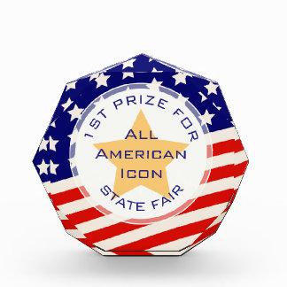 GOLD STAR AMERICAN FLAG PRIZE AWARD