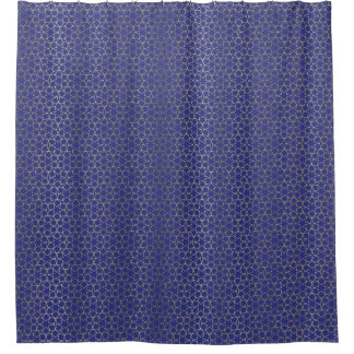 Gold Foil Shower Curtains Zazzle - Purple and gold shower curtain
