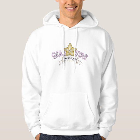 Gold Star Bisexual Hoodie