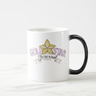 Gold Star Bisexual Morphing Mug