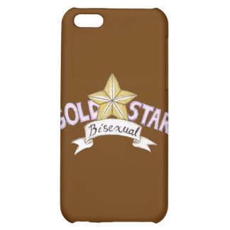 Gold Star Bisexual Speck Case Case For iPhone 5C