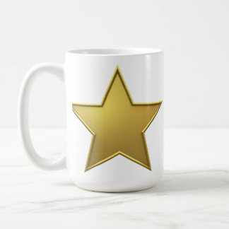 Gold Star Coffee Mug
